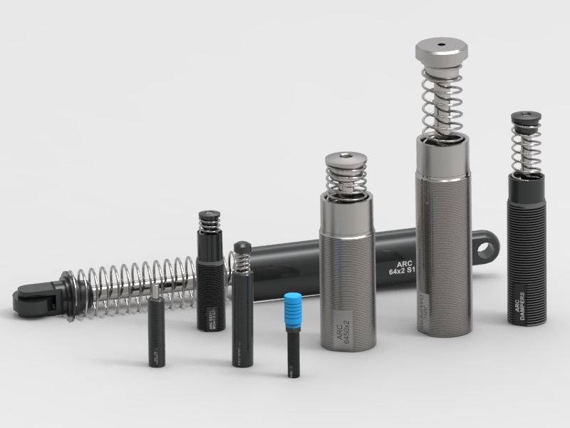 Hydraulic Dampers and Shock Absorbers For Hravy Applications