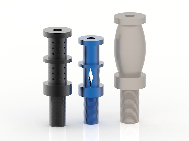 Single impact Shock Absorber